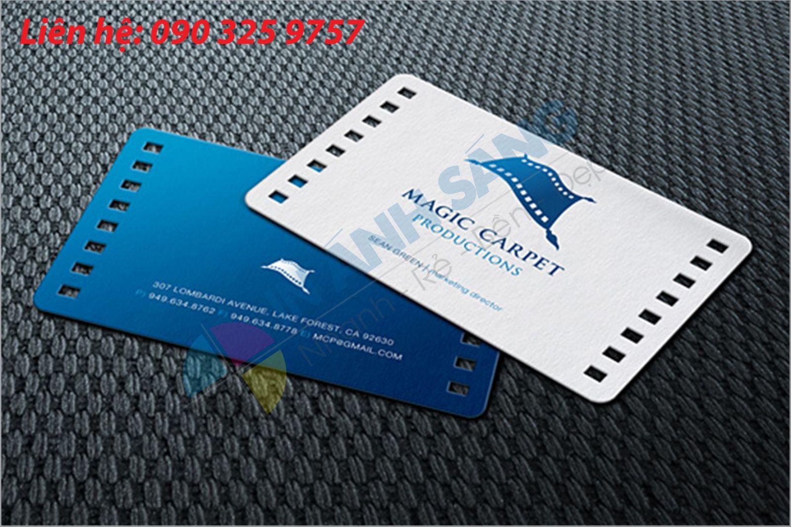 Ấn phẩm card visit in tại Ánh Sáng