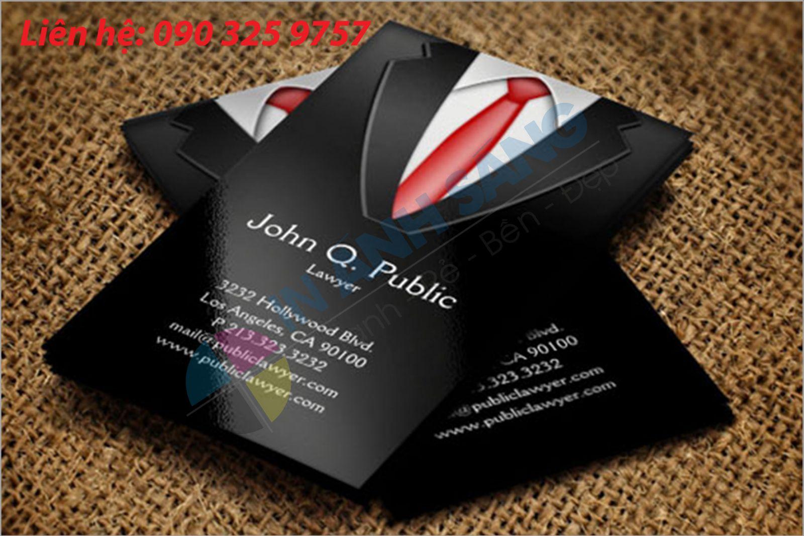 Địa điểm in card visit giá rẻ - chất lượng tại Đống Đa | Ánh Sáng