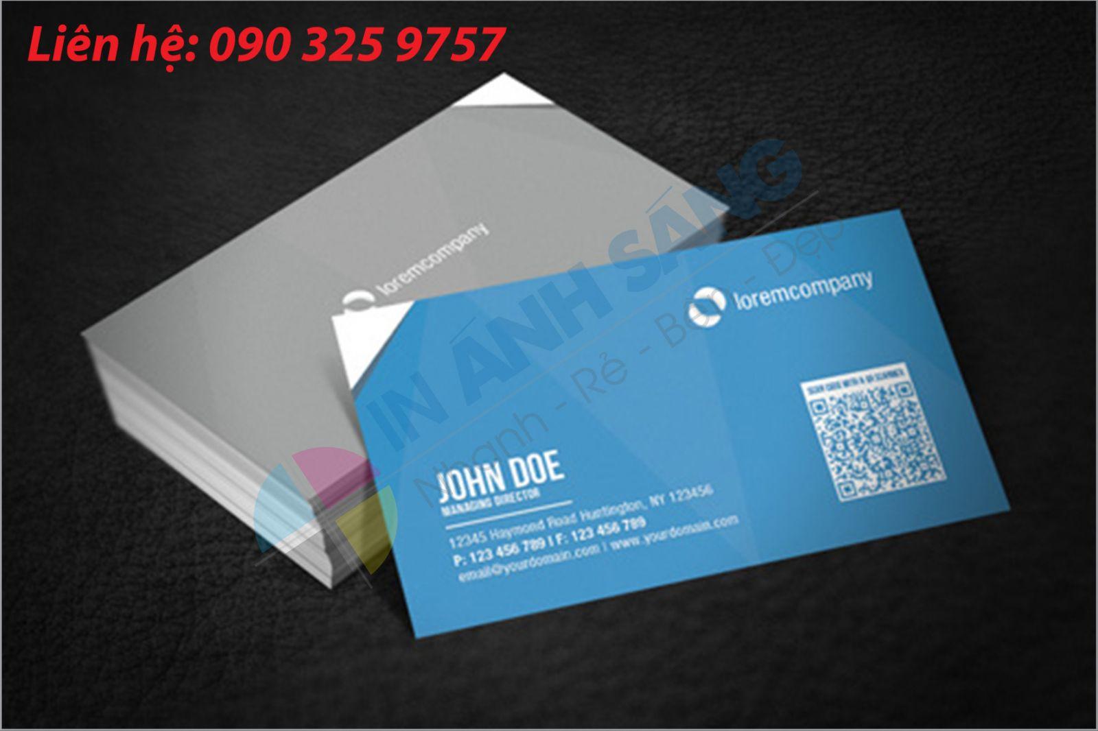 6 Lý do Ánh Sáng luôn có được sự tin tưởng của khách hàng trong in card visit