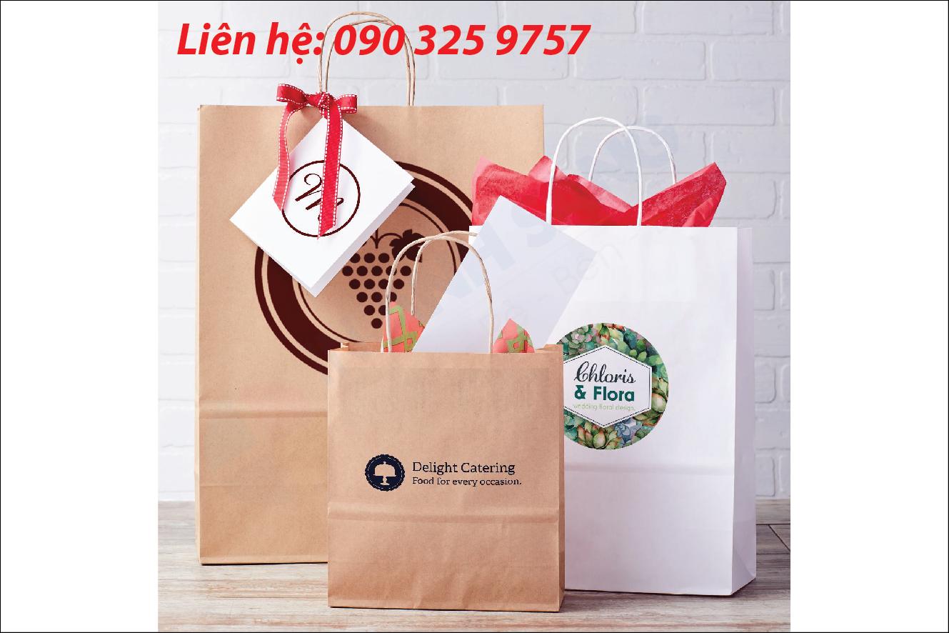 Chất liệu giấy thường sử dụng in túi giấy giá rẻ