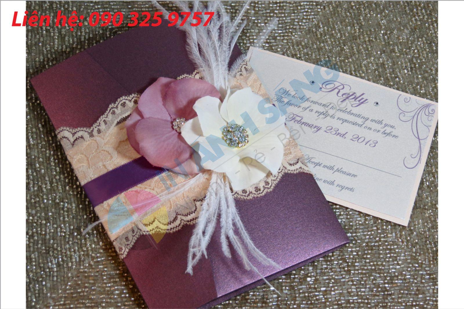 In chỉnh sửa thiệp cưới nhanh giá rẻ tại In Nhanh Ánh Sáng