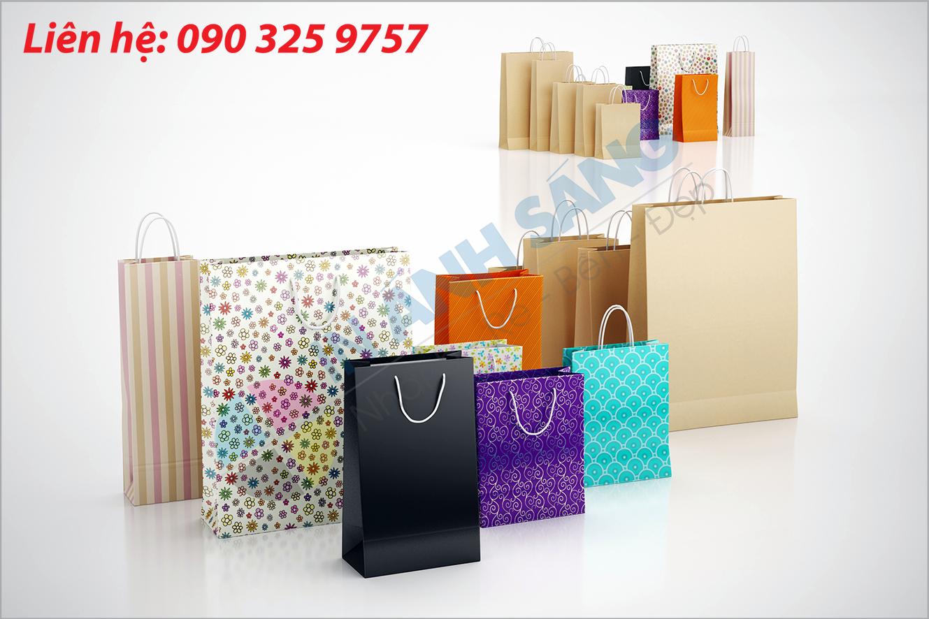 Các chất liệu in túi giấy được sử dụng phổ biến hiện nay