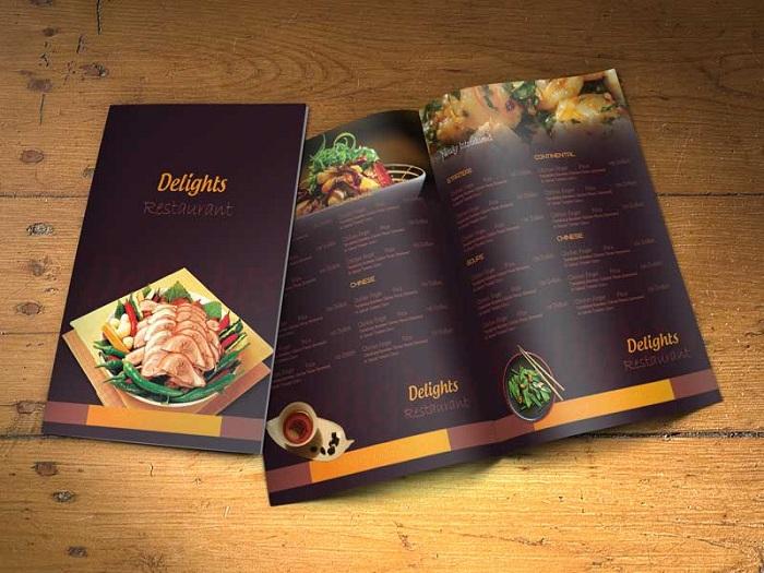 In menu quán ăn hấp dẫn - Bí quyết tăng doanh thu không thể bỏ qua
