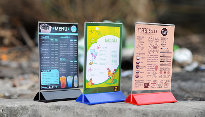 In menu quán ăn hấp dẫn – Bí quyết tăng doanh thu không thể bỏ qua